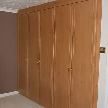 Fitted wardrobes colour celtic birch style sherwood