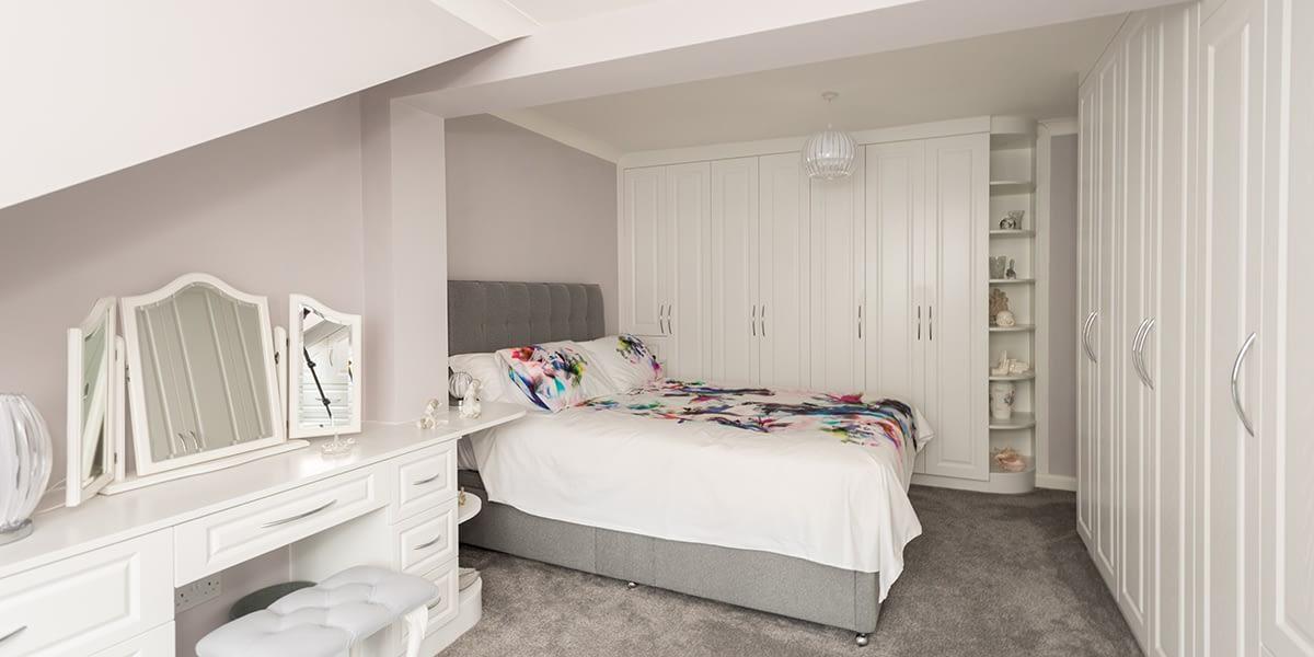 Bespoke bedroom furniture
