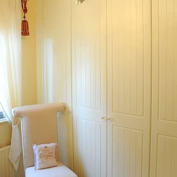 fitted wardrobe colour buttermilk style cottage square