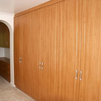 Fitted wardrobe colour milano cherry style millenium
