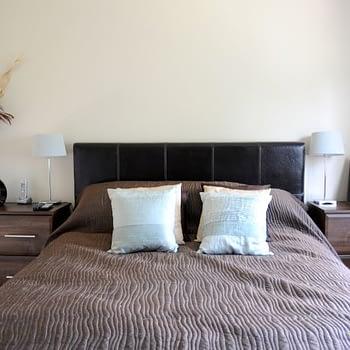 Fitted bedroom bedside drawer units