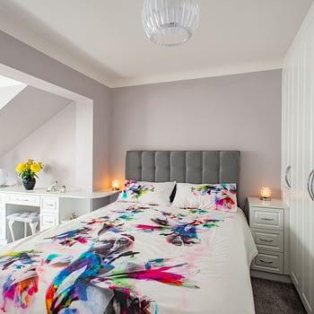 Bespoke bedroom furniture with wardrobes