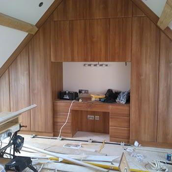 angled ceiling wardrobe colour french walnut style waverley