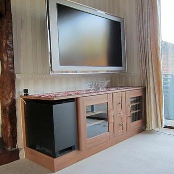Living room central entertainment unit