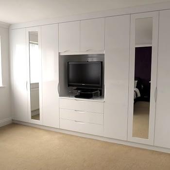 custom fitted bedroom