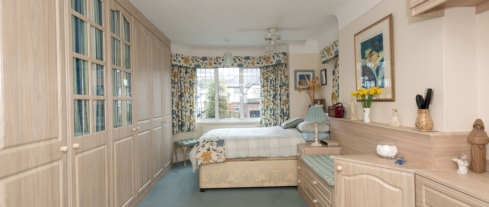 bespoke fitted bedroom athena