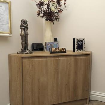 living room corner unit colour odessa oak style venice