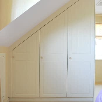 fitted bedroom to angled ceiling colour buttermilk style cottage square
